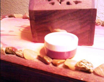 Solid perfume, custom blended and handmade, approx 1/4 oz