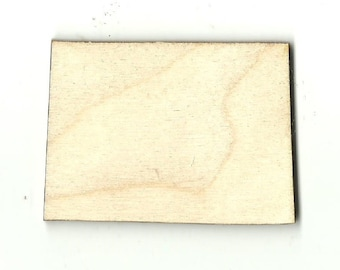 Colorado - Unfinished Laser Wood Cut Out Shapes Craft Supply