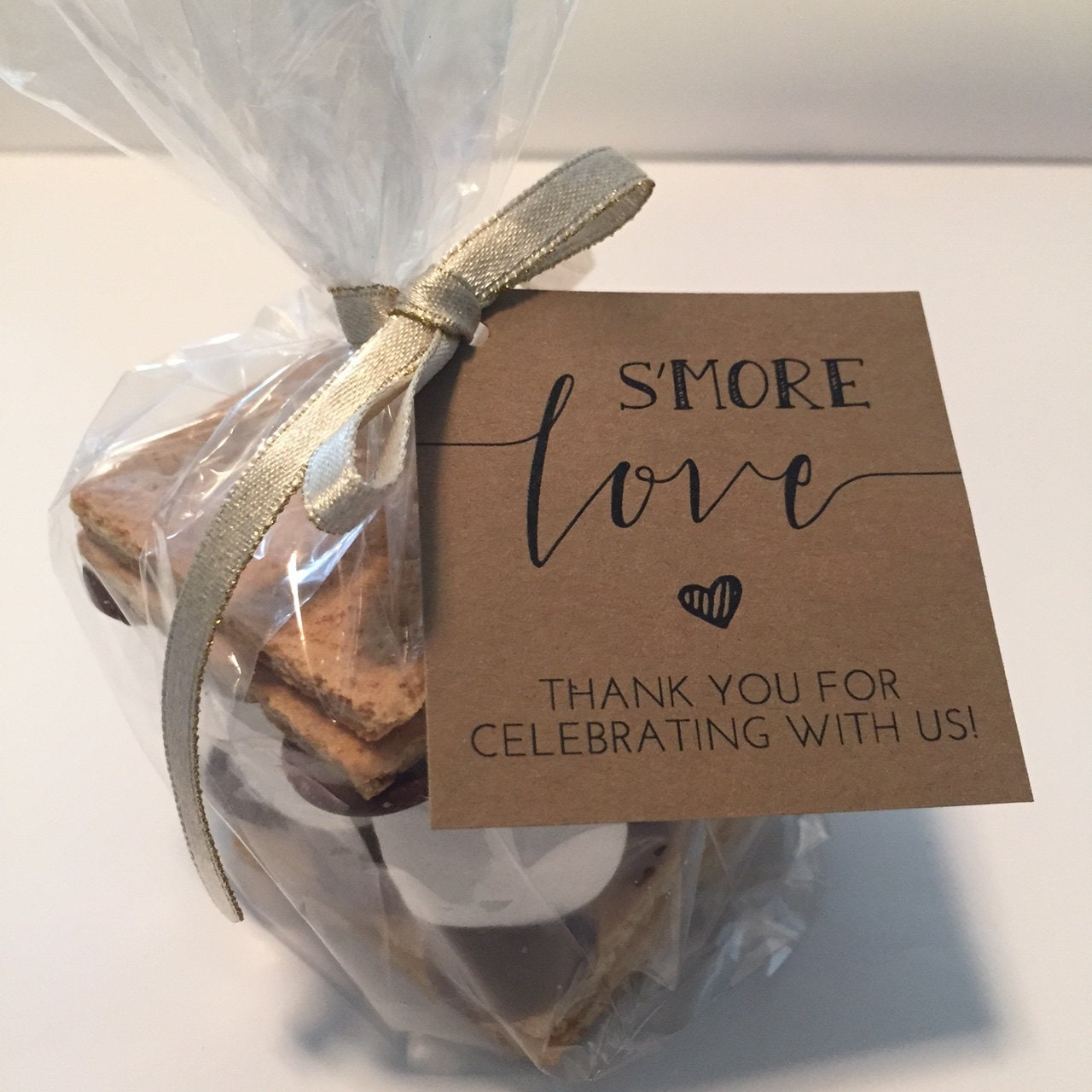 S'more Love Favor Tags Printable // S'mores Favor Kits