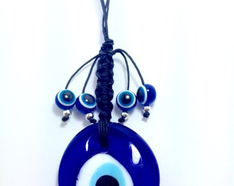 Evil eye Wall Hanging - Protection & Good Luck - Mati - Filaxto