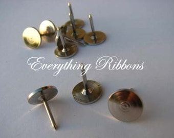 50 Thumb Tacks for Fabric Covered Buttons Push Pins - SEE COUPON