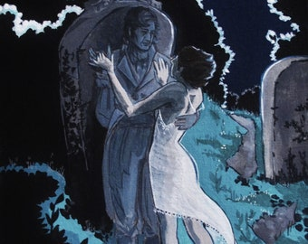 Danse Macabre - painting