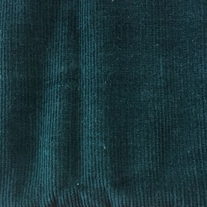 3 yds. / Gorgeous Teal Pinwale Corduroy Fabric