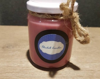 Chocolate Berries Scented Soy Hand-poured Candle