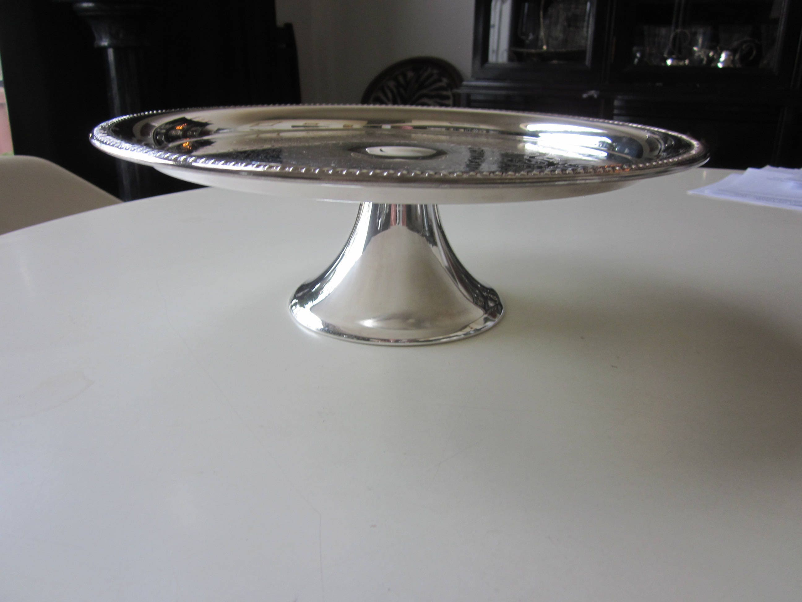 Rogers Silverplate Cake Stand