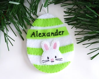 Bunny money holder etsy easter eggs ornaments felt ornaments easter egg ornaments personalized gift card holders money holders easter bunny negle Choice Image