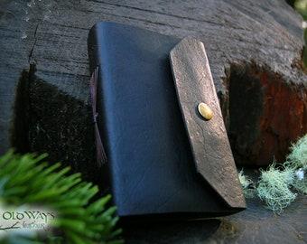 Chocolate brown journal w/ brass snap