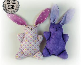 Vintage Stuffed Animal Bunny Set, Bunnies, Children's Toy, Doll