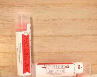 Pop the Cherry - Cherry Lip Balm