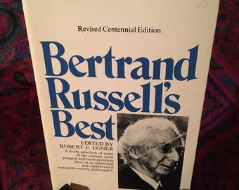 Bertrand Russell's Best by Bertrand Russell, edited by Robert E. Egner - 1971 paperback
