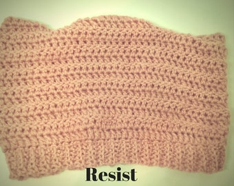 Handmade Crochet Pussy Hat