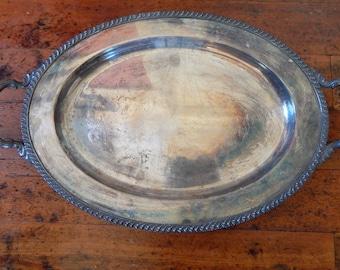 Vintage Silver Platter