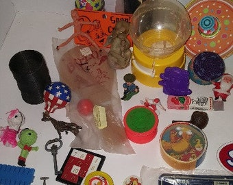 Vintage Toy Junk Drawer Lot Collectible Old Toys
