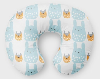 Baby Shower Gifts - New Baby Gifts - Nursing Pillow Cover- Minky Boppy Cover - Nursing Cover Minky - Organic Boppy Cover- Custom Boppy Cover