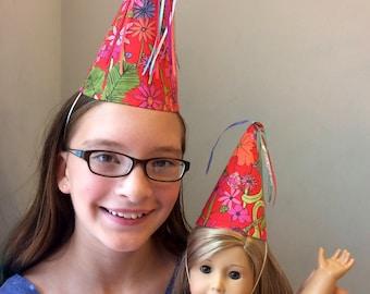 Fabric Birthday Party Hat Set-Girl's Birthday_Liberty of London