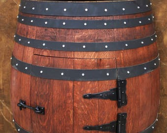 Wine Barrel Vanity Etsy - Wine barrel bathroom vanity