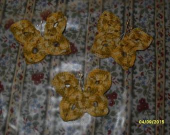 small crochet bow