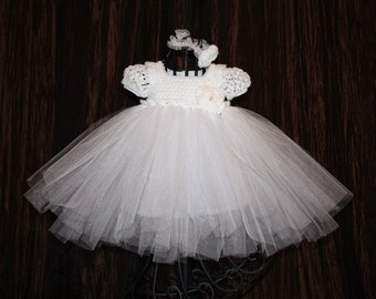 Bella Ballerina / Christening Gown / Blessing Dress / Baptism Dress / Ballerina / Tutu Dress / Christening Dress