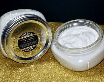 Vegan Shea Butter Body Butter- Leave- in- Conditioner