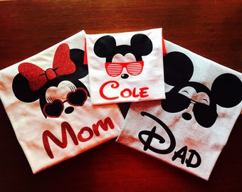 Family disney shirts! childrens listing.