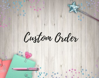 Custom Word And Text Stickers, design your own, create your own, custom words