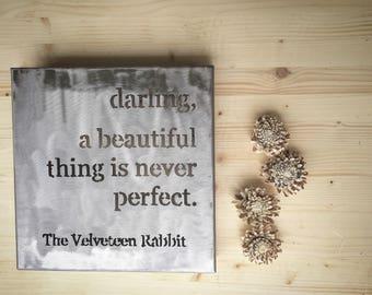 Velveteen Rabbit Darling