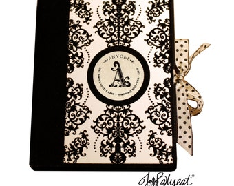 Monogrammed Note Cards - JBalyeat Collection - Note Cards - Boxed Set of 12