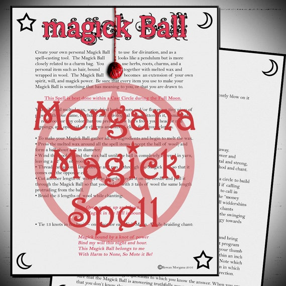 The Magick Ball Spell
