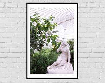 Botanic gardens classic sculpture digital photography print