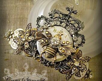 Queen Bee Steampunk Crown