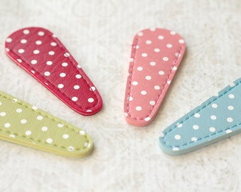 Pick One Polka Dot Scissor Sheath or Needle Case Protector : 7 Colors 2 Sizes Available Inazuma Japan ciseaux de broderie cross stitch gift