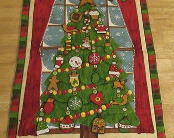 Christmas Advent Calendar - Tall Decorated Tree