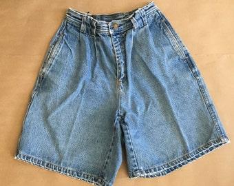 Carmel High Waisted Vintage Jean Shorts