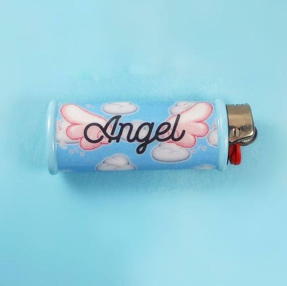 Angel Bic Lighter Case Tumblr Kawaii Cover Holder by Etsy