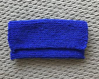 Minimalist Hand Knitted Clutch