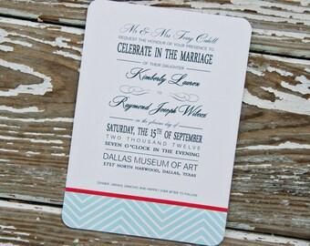 Wedding Invitations - Kim