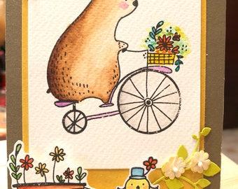 Handmade card (Good day to you)