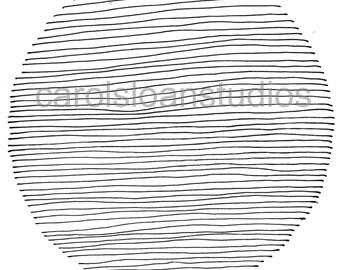 Thermofax Screen Circle