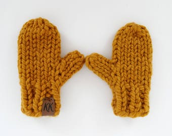 Toddler Mittens // Wool Mittens // Knitted Mittens // Kids Mittens // Winter Mittens // Children's Mittens