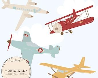 Professional Airplane Clipart Airlplane Vectors