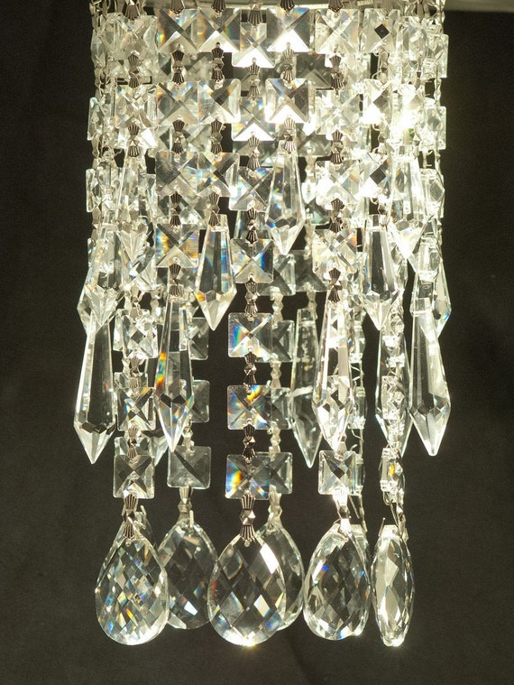 Luxe Crystal CELINE Easy Clip On Magnet Mini Bling Crystal - Chandelier crystals with magnets