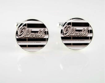 Vintage Oldsmobile Emblem Cuff Links or Tie Clip