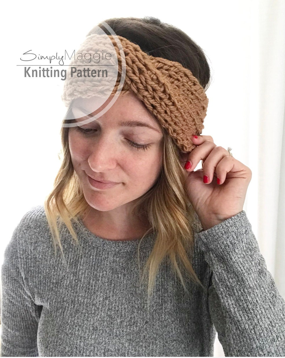 Enchanting Knitted Turban Headband Pattern Collection - Blanket ...