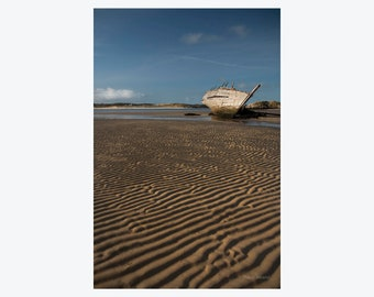 "Ireland Photography, Donegal Shipwreck ""Carrick na Mara"", Landscape Photography"