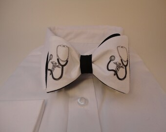 Stethoscope Bow tie,Doctor,Medical