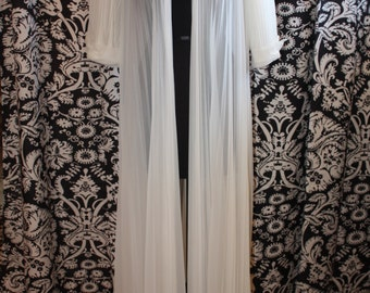 1950's Victorian Peignoir Dressing Gown  Item #157-DG