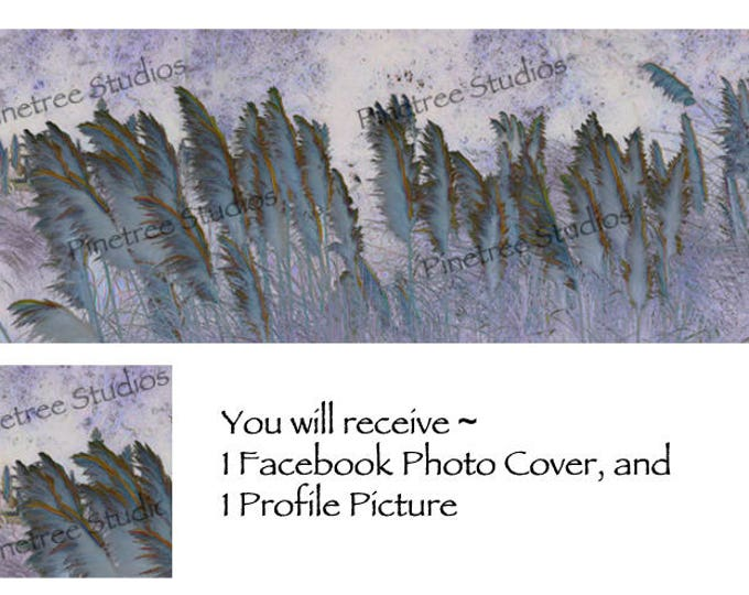 Mystic Grass ~ Facebook Blank Cover Photo and Profile Picture