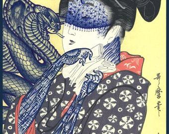 Ramon Maiden original illustration