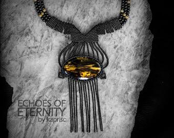 Macrame Ambar necklace