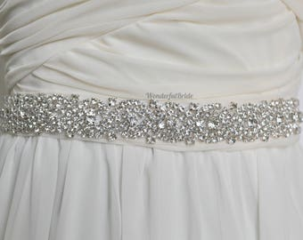 Wedding Sash, wedding Belt, Bridal Sash, wedding sash, Rhinestone Sash, Beaded Sash, Satin Wedding Sash, crystal sash, Satine sash, sashes